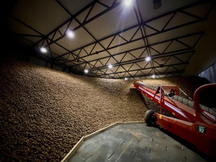 На Львівщині запустили найсучасніше картоплесховище